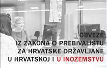 [Obavijest PU Istarske] Za ponovnu prijavu prebivališta - rok 29. prosinca 2014. godine