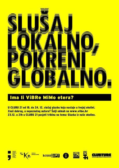 "Ima li ViBRe MiMo etera? @ Klub mladih ""Club 21"", Labin (18.12. - 24.12.)"