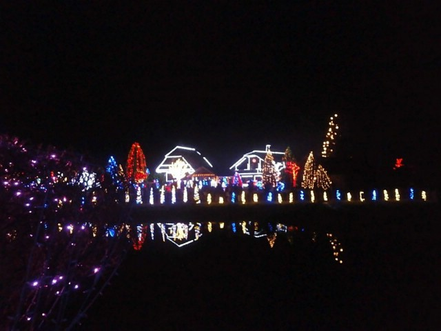 Labinjani posjetili Božićnu bajku obitelji Salaj