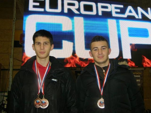 Bronce za  Marina Faraguna i Ivana Augustinovića na Europskom kupu u kickboxing `Karlovac open 2015`
