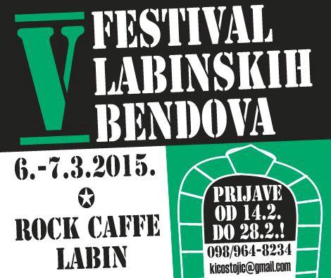 POČELE PRIJAVE ZA 5. FESTIVAL LABINSKIH BENDOVA