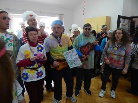 Maskenbal u Centru za inkluziju i podršku u zajednici Labin