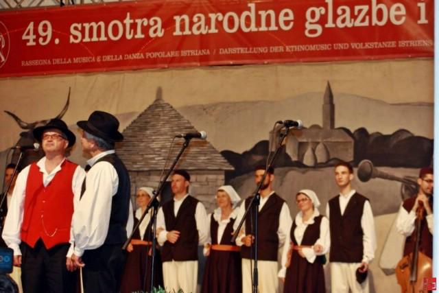 Odbor Smotre narodne glazbe i plesa Istre izuzetno uspješnom ocijenio središnju Smotru održanu u Labinu