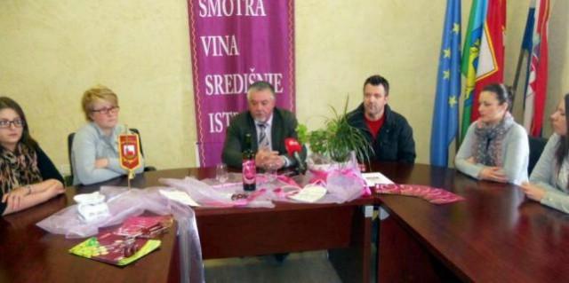 Na 22. smotri vina u Gračišću i pet vinara s područja Labina