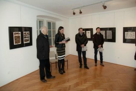 "Otvorena izložba crteža Karla Paliske ""Retrospektiva 1981.-2010.""."