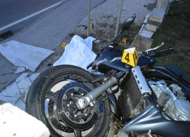 Poginuo motociklist Senid Miskić iz Labina