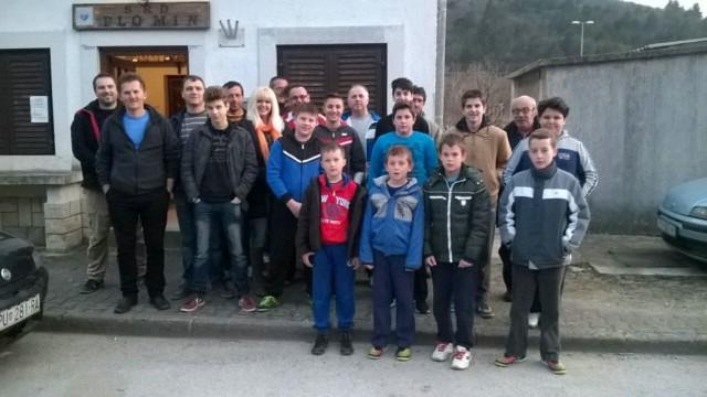[Poziv] Započela `Mala škola ribarstva` za mlađe uzraste u organizaciji SRD Plomin