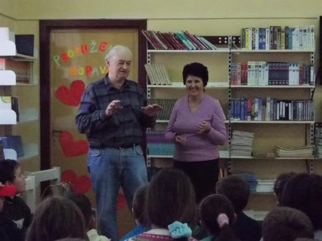 Kanat na tonko i debelo u Osnovnoj školi `Ivo Lola Ribar` Labin