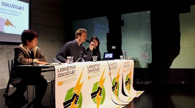 Nova tribina o Plominu C – 29.03. svi na referendum poručuje Ana Musa aktivistica protiv TE u Pločama