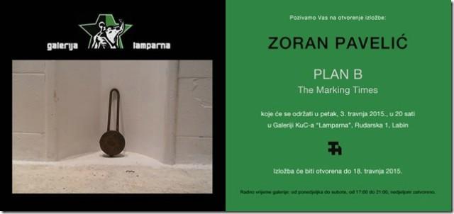 Izložba Zorana Pavelića u Galeriji `Lamparna`