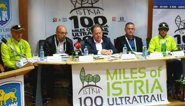 Ovog vikenda 100 milja Istre - 850 prijavljenih trkača iz 36 država svijeta - u Labinu start najduže utrke