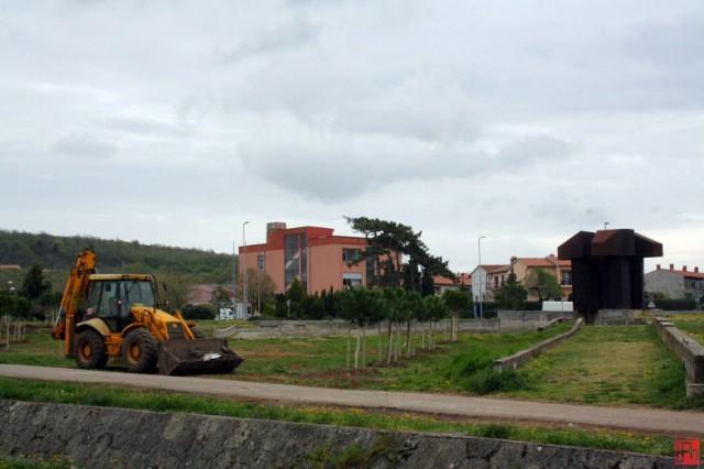 Počela obnova Spomen parka rudaru borcu