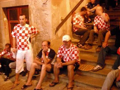I u Labinu se teško podnio poraz Hrvatske na Euru 2008
