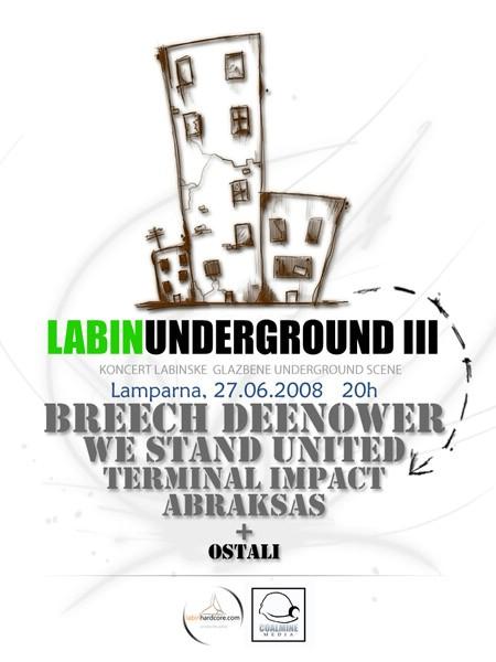 """""""LabinUnderground"""" smotra labinskih bendova @ KuC Lampana"""