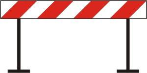Obavijest o zatvaranju ceste zbog fešte Petrova