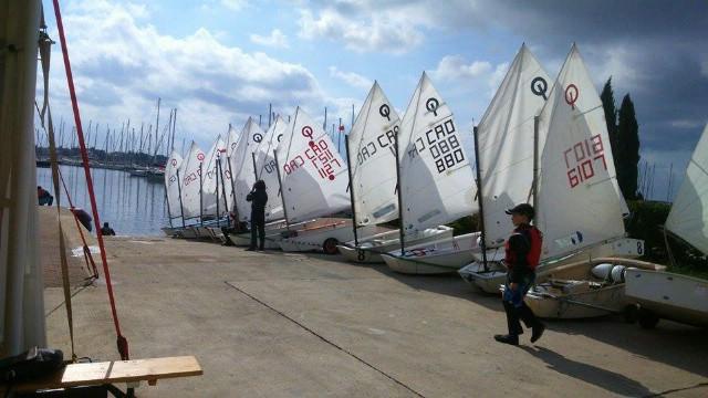 Jedriličari JK Kvarner sudjelovali na regati Mittel Europa Opti Race za klasu Optimist u Umagu