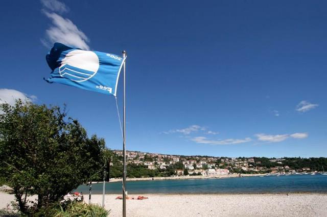 Labin laureat Zelenog cvijeta 2008 u Istarskoj županiji u kategoriji gradova,rabačke plaže dobitnice Plavog cvijeta