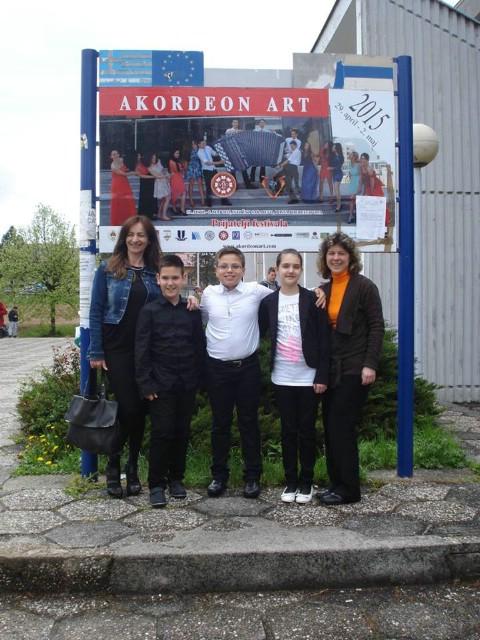 Dva zlata i srebro učenika labinske glazbene škole na natjecanju u Sarajevu