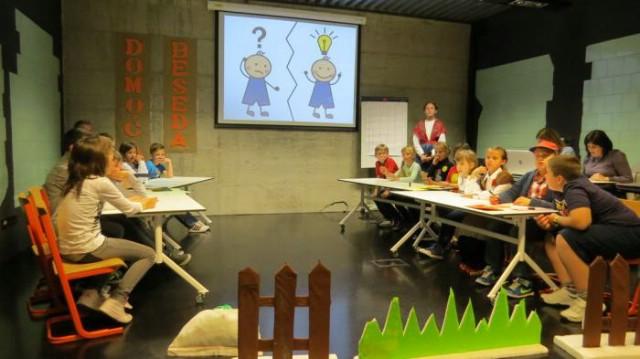 """U Gradskoj knjižnici Labin održana je prezentacija projekta """"Domoća beseda"""""""