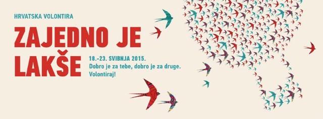 Manifestacija Hrvatska volontira od 18. - 23. svibnja u Labinu