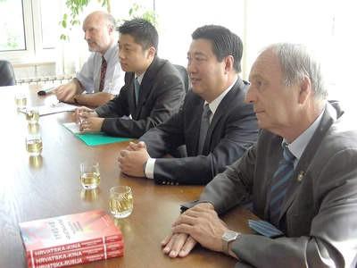 Veleposlanik NR Kine posjetio Labin i TE Plomin