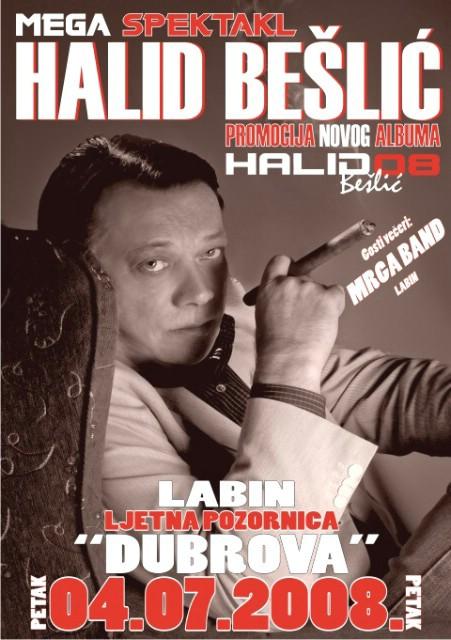 Razgovor sa Halidom Bešlićem uoči koncerta u Labinu