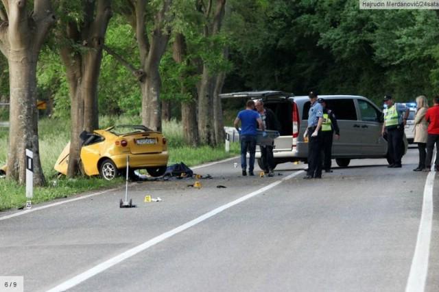 Tragedija: Dvojica mladića poginula u prometnoj nesreći kod Mosta Raša - pri punoj brzini izletjeli sa ceste i zabili se u stablo