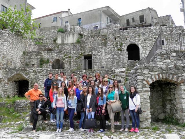 Labinski srednjoškolci okupljeni u dramskoj skupini `Arcobaleno` Zajednice Talijana boravili u Italiji