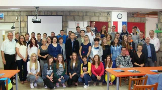Poljski srednjoškolci iz Malopolske posjetili labinsku srednju školu