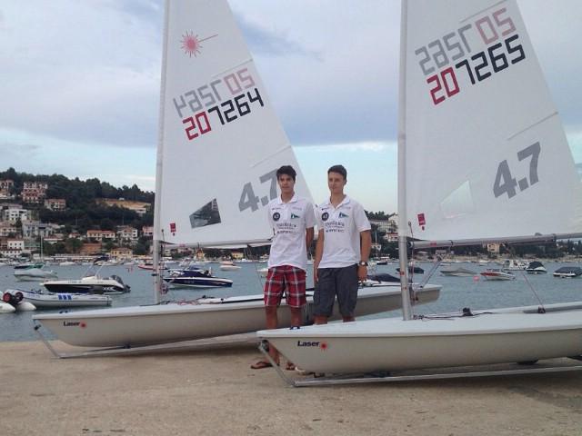 Antonio Milevoj i Leon Kalac idu na Europsko prvenstvo klase Laser 4.7
