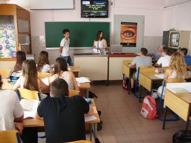 GLOBE GRUPA labinske srednje škole obilježava Svjetski dan zaštite okoliša
