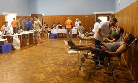 Na akciji dobrovoljnog darivanja krvi u Koromačnu prikupljeno 37 doza krvi
