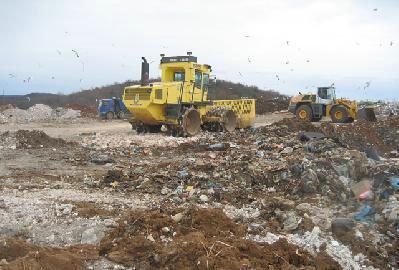 U dva dana u Cere dopremljeno 78,42 tone otpada iz Rijeke