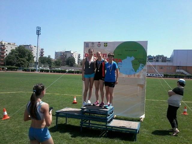 Mladi atletičari AK Albona osvojili 6 odličja  na IX. međunarodnom atletskom mitingu `Do salti e´na corseta` u Puli