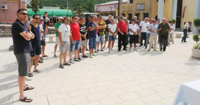 Prijem u povodu jubilarnog susreta raških i talijanskih nogometnih veterana