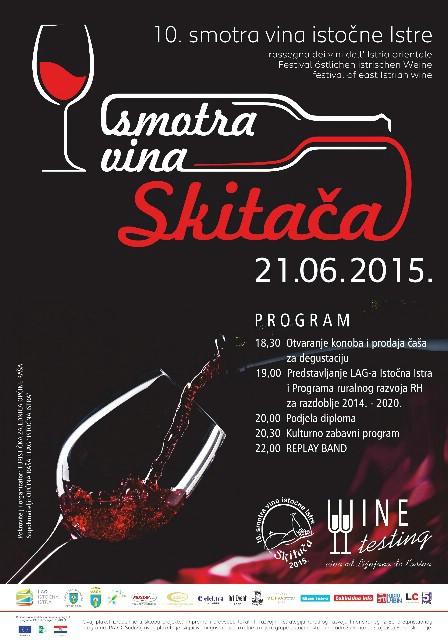 U nedjelju 10. Smotra vina istočne Istre na Skitači