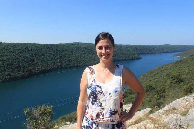 Blogerici Miriam Risager iz Danske na svom putovanju po Istri najviše se dojmio upravo grad Labin
