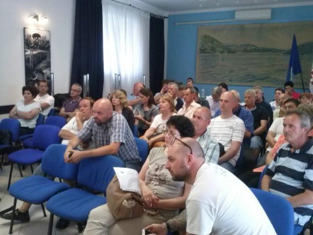 Građani zainteresirani za Urbanistički plan uređenja Svete Marine
