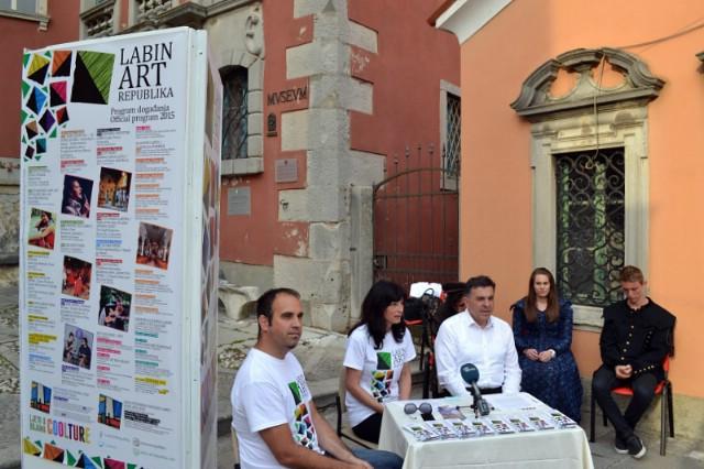 Dina Rizvić otvara Labin Art Republiku