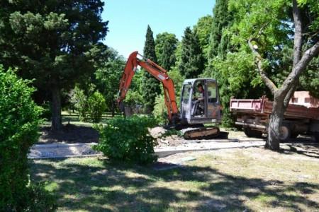 Skulptura MKS-a u Parku Hrvatskih branitelja Domovinskog rata