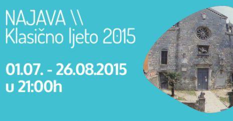 Danas prvi koncert iz projekta Labin klasično ljeto 2015