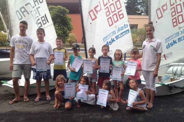 Uspješno održan prvi termin Škole jedrenja za djecu
