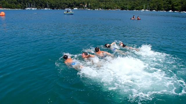 Uspješni mladi plivači Društva sportova na moru Koromačno