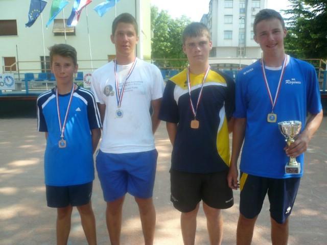 Uspješan nastup braće Kubaj na juniorskom prvenstvu Istre u boćanju kao uvod u Državno prvenstvo za kadete