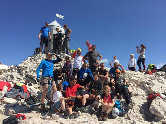 Labinjani na vrhu Triglava