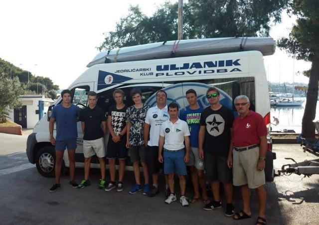 Jedriličari Antonio Milevoj i Leon Kalac otputovali na Europsko prvenstvo klase Laser 4.7