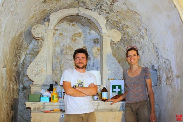 U tijeku konzervatorsko-restauratorska istraživanja na zidnim slikama crkve sv. Kuzme i Damjana