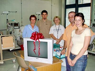 Donacija labinskom Centru za dijalizu
