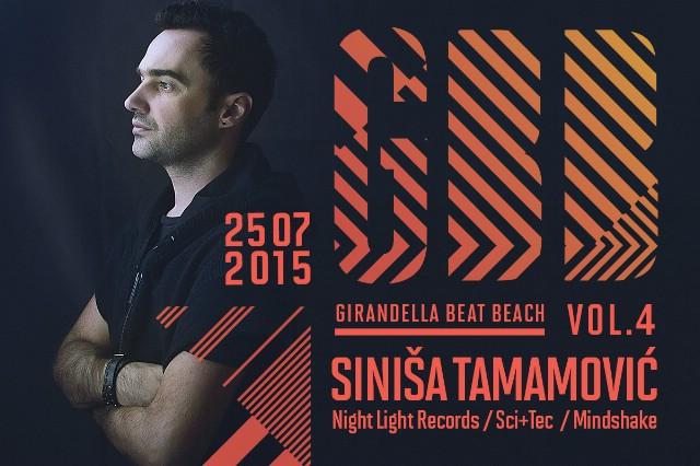 GIRANDELLA BEAT BEACH w/ Siniša Tamamović @ Rabac 25.07.2015.