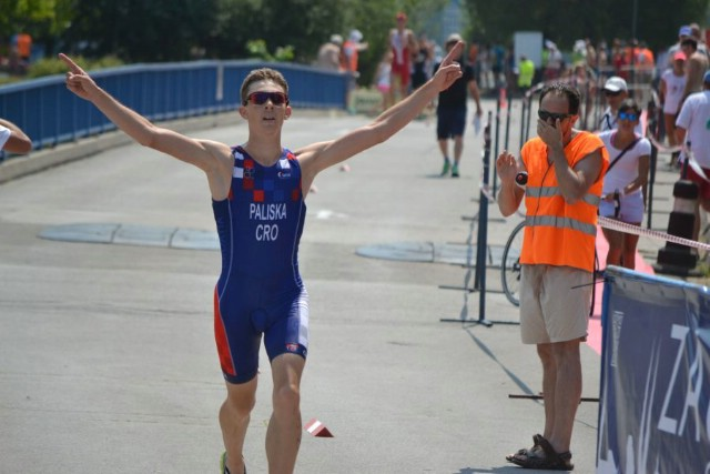 Luka Paliska zlatni na Balkanskom prvenstvu u triatlonu